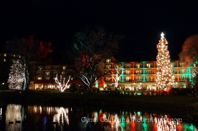 The Broadmoor Christmas Lights