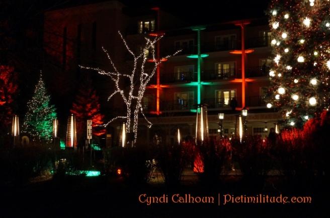 Lighting at the Broadmoor