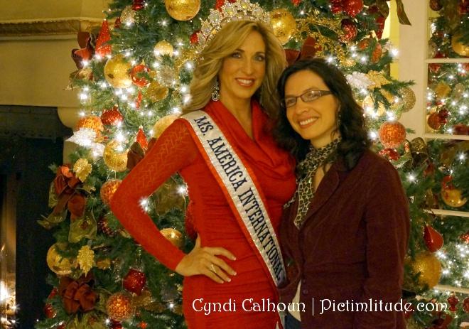 Ms. America and Cyndi