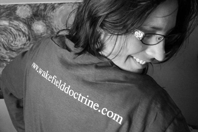 Cyndi and Her Wakefield Doctrine T-Shirt