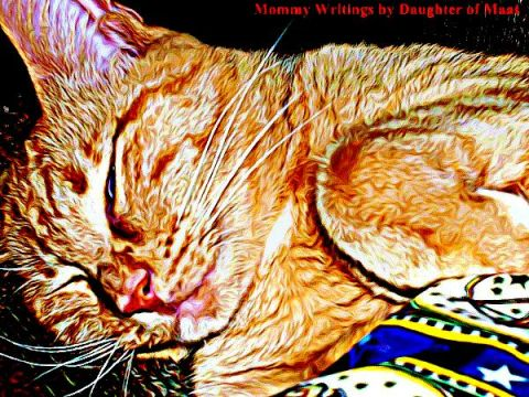 Daughter of Maat's Cat - Edited