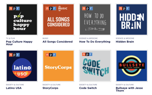 Podcasts...hmm...maybe I should make some of my own or something.